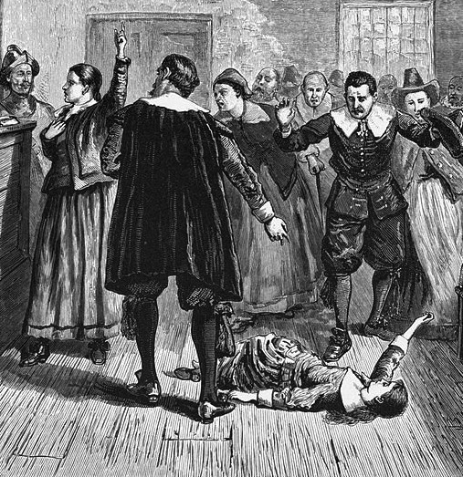 an explanation of the hysteria of the salem witch trials What caused the salem witch trial hysteria of  charles w upham wrote an explanation for salem's  examination of a witch why did the salem witch trials.